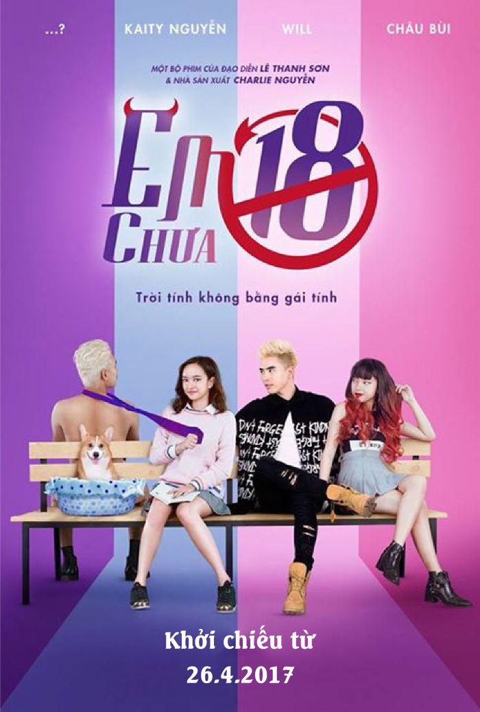 """Picture for category """"Em chưa 18"""" - Tác phẩm cán mốc doanh thu 100 tỷ nhanh nhất lịch sử phim Việt"""