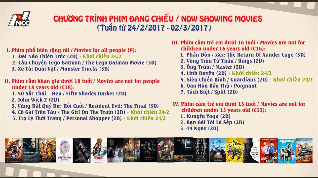 Picture for category Chương trình phim đang chiếu (Từ 24/2 - 02/3)