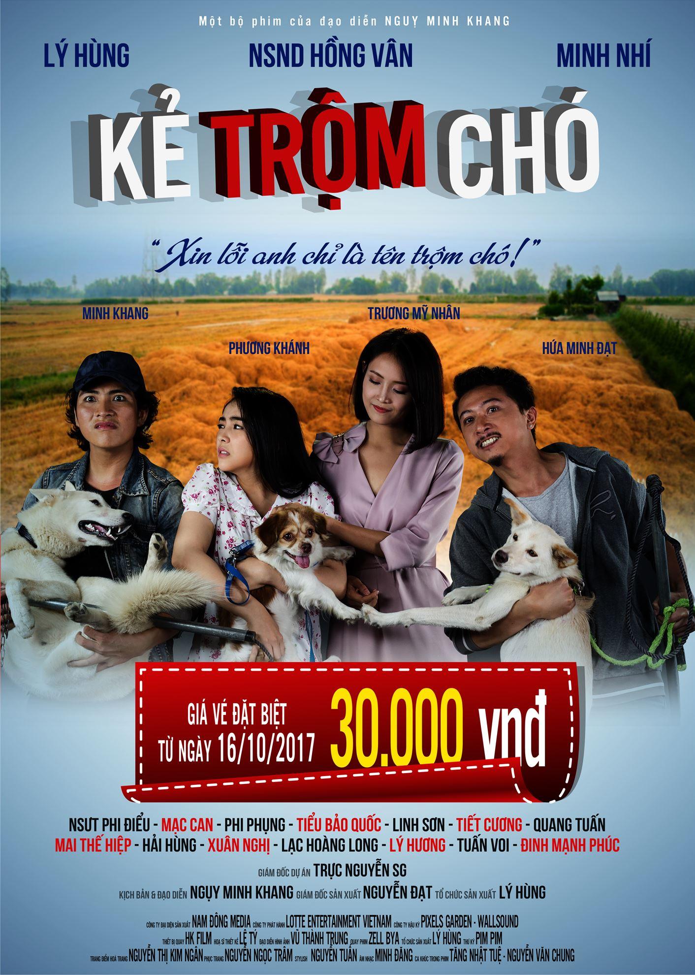 Picture for category Đồng giá vé 30.000đ bộ phim hài KẺ TRỘM CHÓ