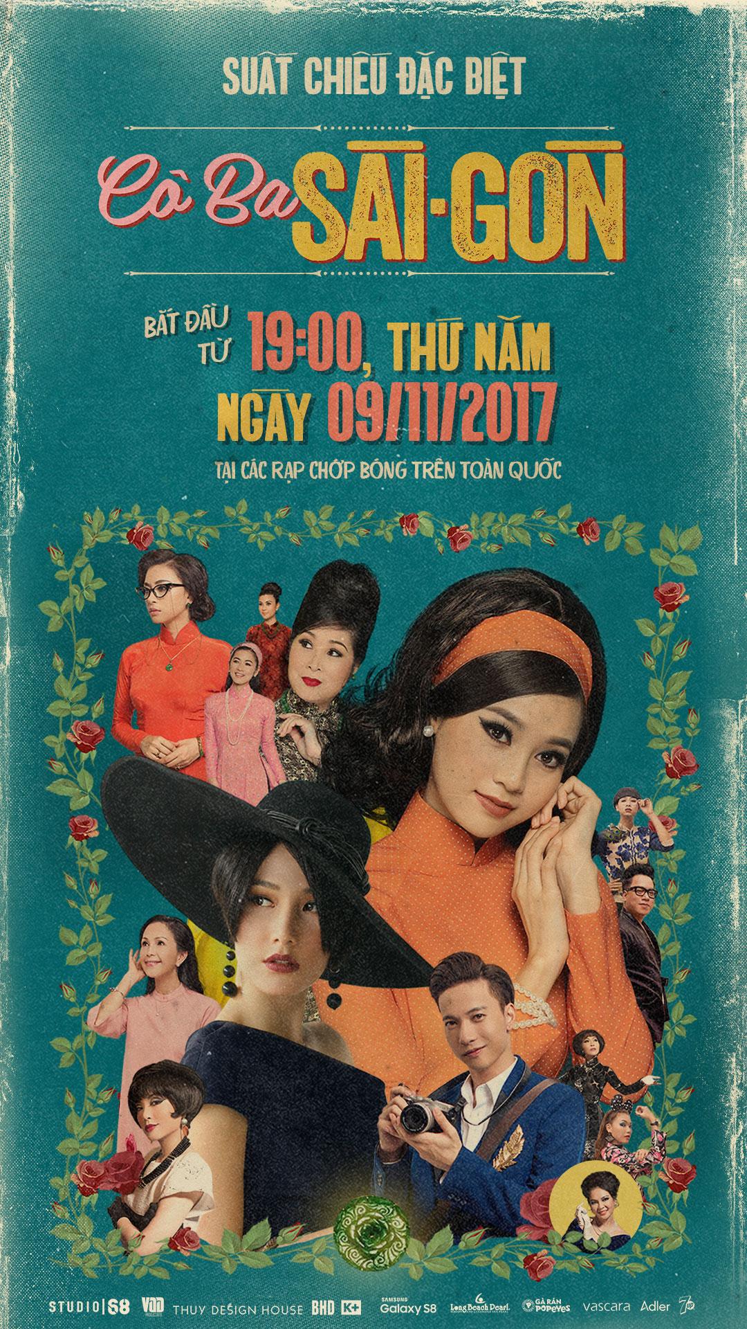 Picture for category Khởi chiếu sớm bộ phim  CÔ BA SÀI GÒN