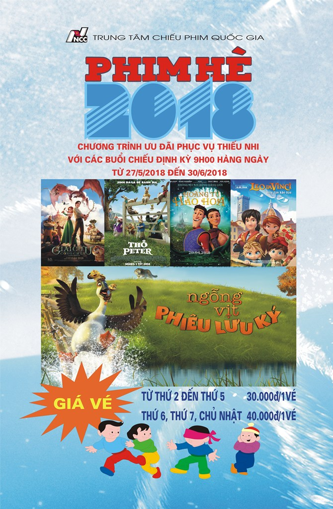 Picture for category Chương trình Phim Hè 2018 (Từ 27/5 - 30/6/2018)
