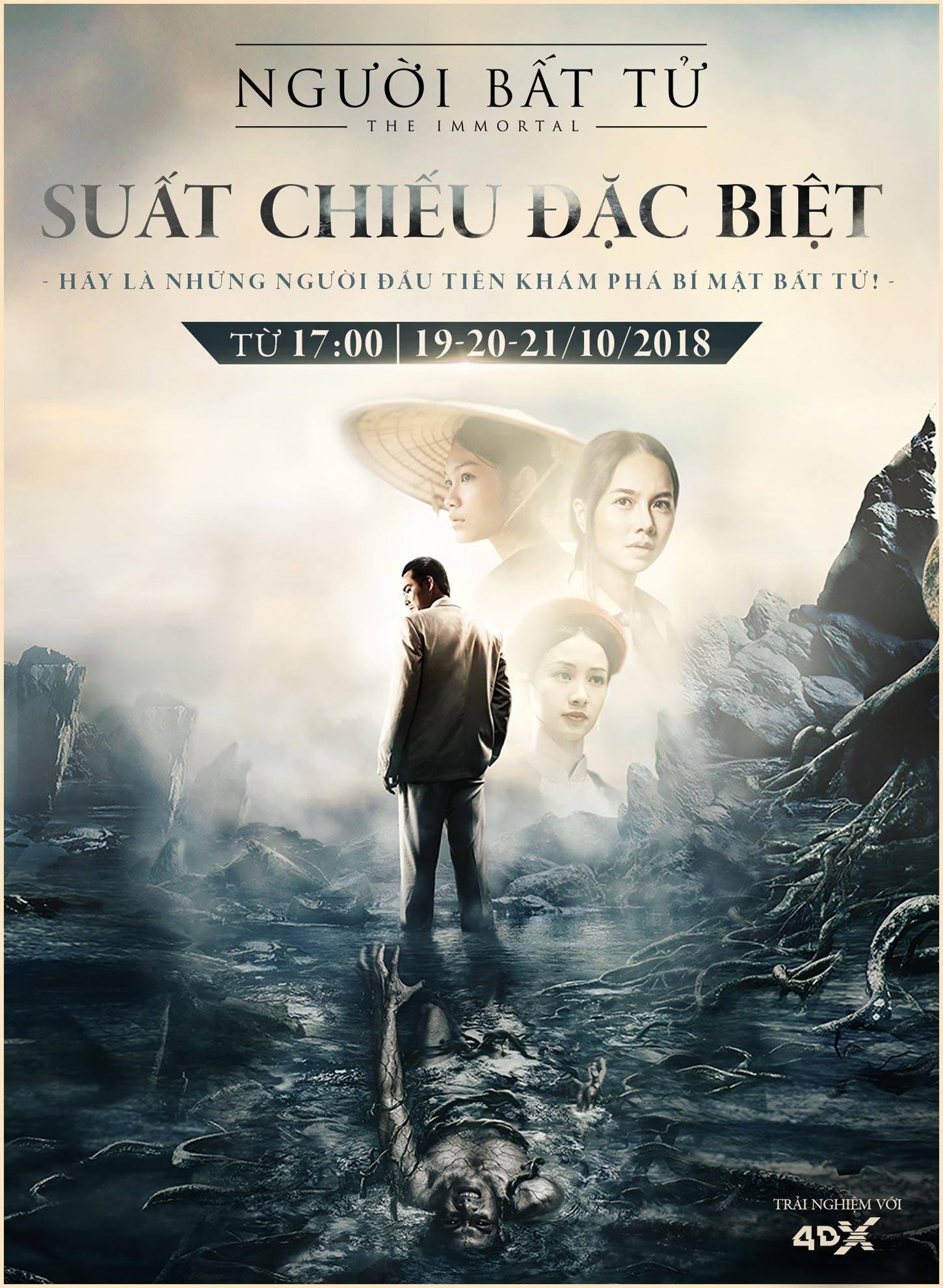 """Picture for category SUẤT CHIẾU ĐẶC BIỆT CỦA BỘ PHIM """"NGƯỜI BẤT TỬ"""""""