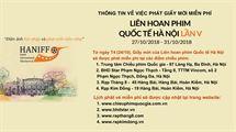 Picture for category Thông tin về việc phát giấy mời miễn phí LHP Quốc tế Hà Nội lần V