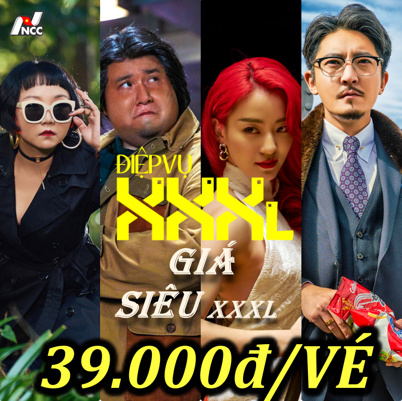 """Picture for category Đồng giá 39.000đ bộ phim Hàn Quốc """"Điệp Vụ XXXL"""""""