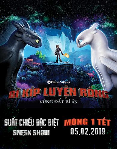 """Picture for category KHỞI CHIẾU SỚM """"BÍ KÍP LUYỆN RỒNG: VÙNG ĐẤT BÍ ẨN"""" NGÀY MÙNG 1 TẾT"""