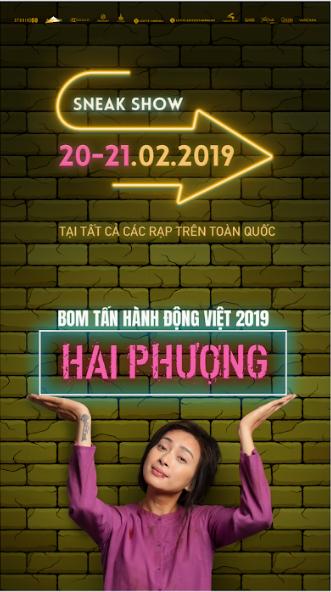 """Picture for category Khởi chiếu sớm bom tấn hành động Việt """"HAI PHƯỢNG"""""""