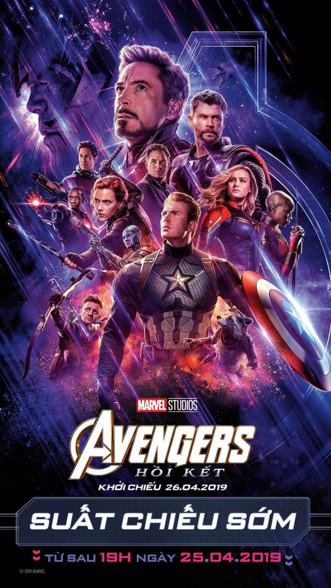 "Picture for category MỞ BÁN VÉ SNEAK SHOW SIÊU BOM TẤN ""AVENGERS: ENDGAME"""