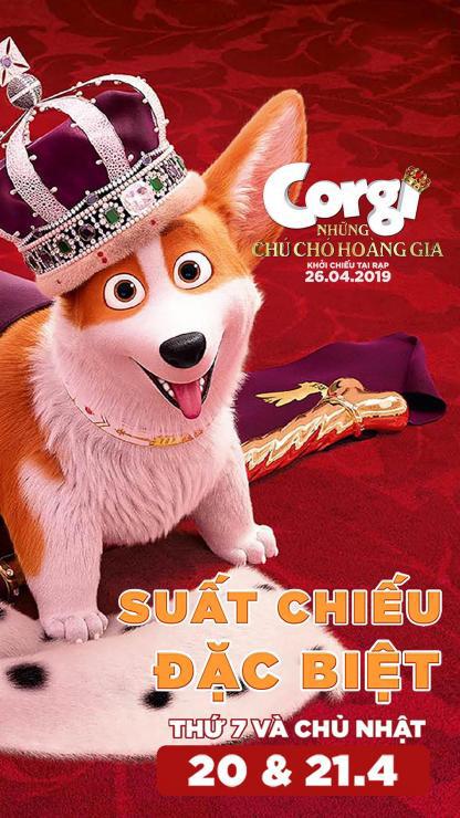 """Picture for category Khởi chiếu sớm siêu phẩm hoạt hình """"CORGI: NHỮNG CHÚ CHÓ HOÀNG GIA"""""""