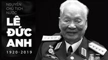 Picture for category Thông báo Quốc tang Nguyên Chủ tịch nước Lê Đức Anh