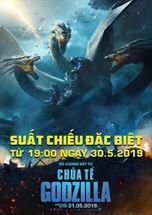 "Picture for category Suất chiếu đặc biệt siêu phẩm ""Godzilla: King of the Monsters"" ngày 30/05"