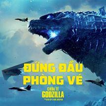 """Picture for category Bom tấn siêu quái vật """"Chúa Tể Godzilla"""" thống lĩnh phòng vé thế giới và Việt Nam"""