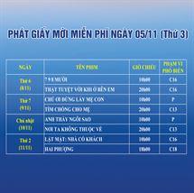Picture for category PHÁT GIẤY MỜI MIỄN PHÍ TUẦN PHIM CHÀO MỪNG LIÊN HOAN PHIM VIỆT NAM LẦN THỨ XXI
