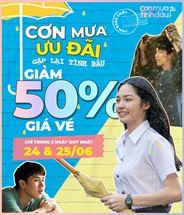 Picture for category CƠN MƯA ƯU ĐÃI - GẶP LẠI TÌNH ĐẦU GIẢM 50% GIÁ VÉ