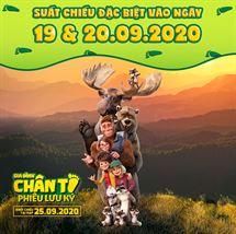 """Picture for category Khởi chiếu sớm bộ phim hoạt hình """"Gia Đình Chân To Phiêu Lưu Ký"""""""