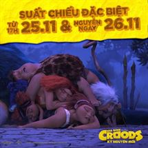 """Picture for category SUẤT CHIẾU ĐẶC BIỆT của bộ phim """"GIA ĐÌNH CROODS: KỶ NGUYÊN MỚI"""""""