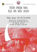 Picture for category TUẦN PHIM NGA TẠI HÀ NỘI 2020 (Từ 09/12 đến 13/12/2020)