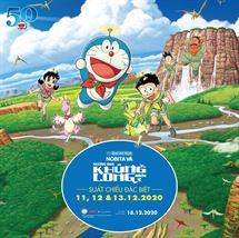 """Picture for category Suất chiếu đặc biệt """"Phim Doraemon: Nobita Và Những Bạn Khủng Long Mới"""" ngày 11 đến 13/12 tại NCC"""