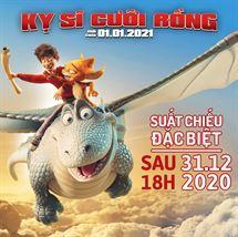 """Picture for category SUẤT CHIẾU ĐẶC BIỆT BỘ PHIM HOẠT HÌNH """"KỴ SỸ CƯỠI RỒNG"""" NGÀY 31/12"""