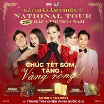 """Picture for category NATIONAL TOUR """"CHÚC TẾT SỚM - TẶNG VÀNG RÒNG"""" TẠI NCC"""
