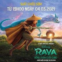 """Picture for category """"RAYA & RỒNG THẦN CUỐI CÙNG"""" mở màn phim hoạt hình đầu tháng 3 với suất chiếu đặc biệt từ 04/3"""