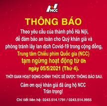 Picture for category THÔNG BÁO NGỪNG HOẠT ĐỘNG TẠI NCC từ 05/5/2021